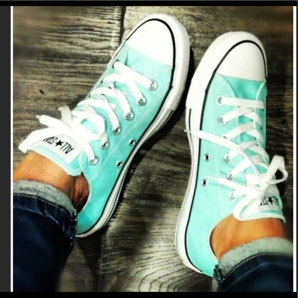 36b18100e37b70 Converse Shoes - Converse Chuck Taylor All Star Light Aqua